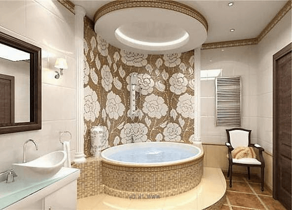Ceiling fluorescent bathroom overhead lighting ideas for modern design