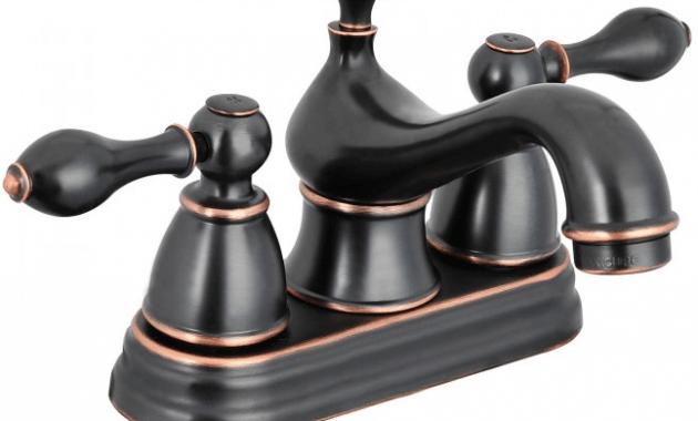 Contemporary oil rubbed bronze bathroom faucets
