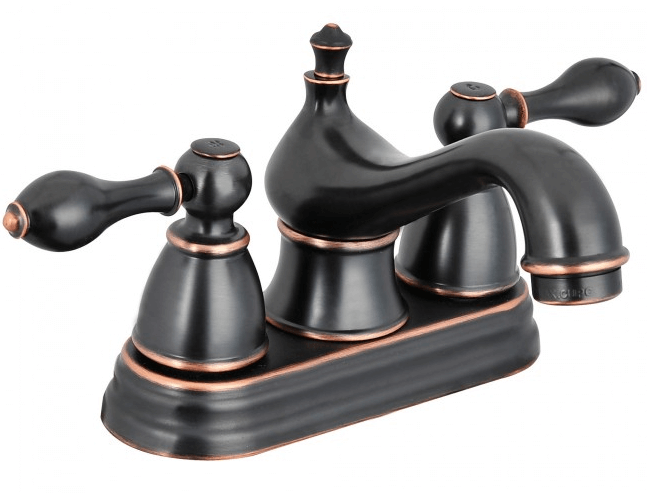 Contemporary oil rubbed bronze bathroom faucets