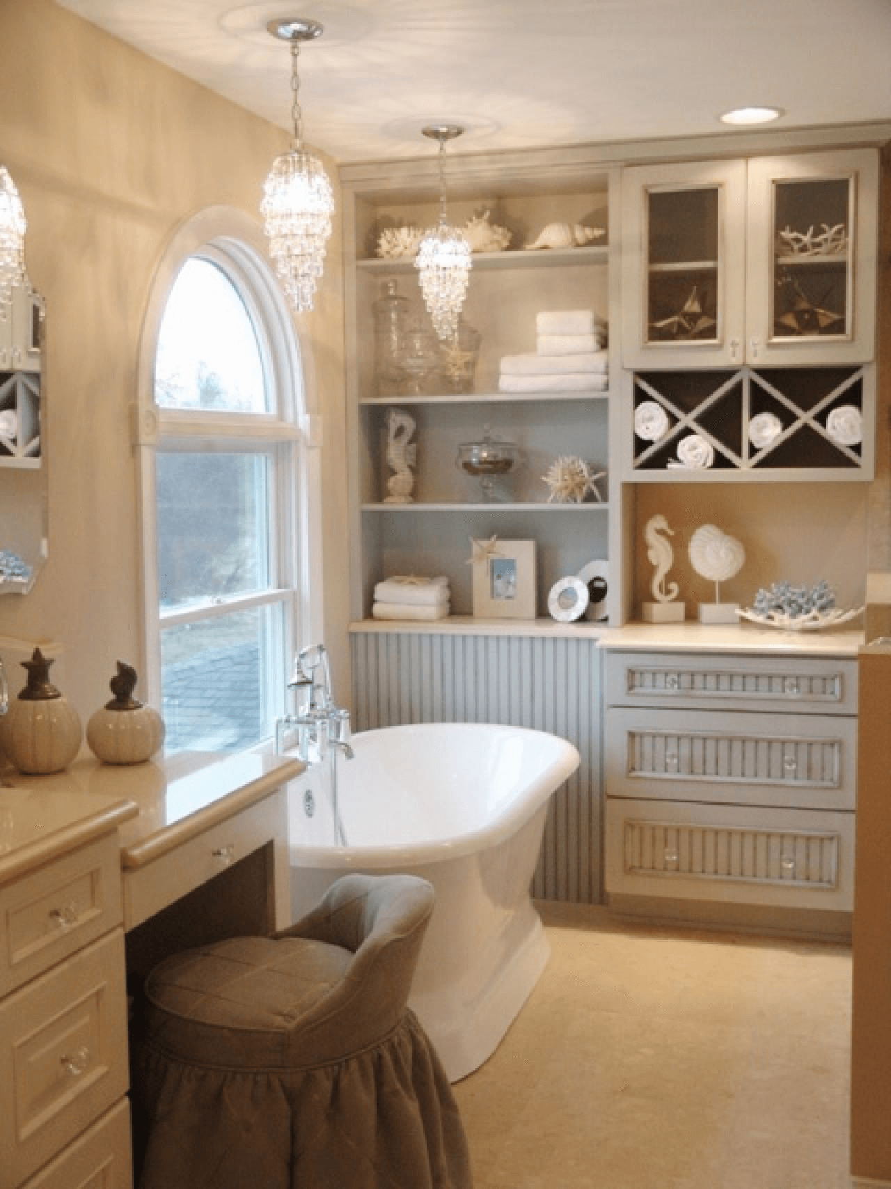 Cottage Bathroom Lighting Ideas