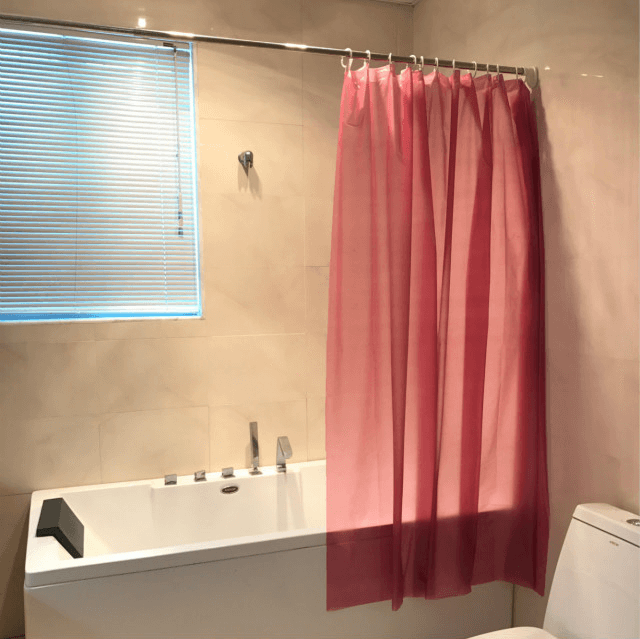 Shower curtain liner red pictures