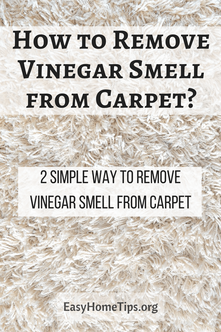 2 Simple Way How to Remove Vinegar Smell from Carpet