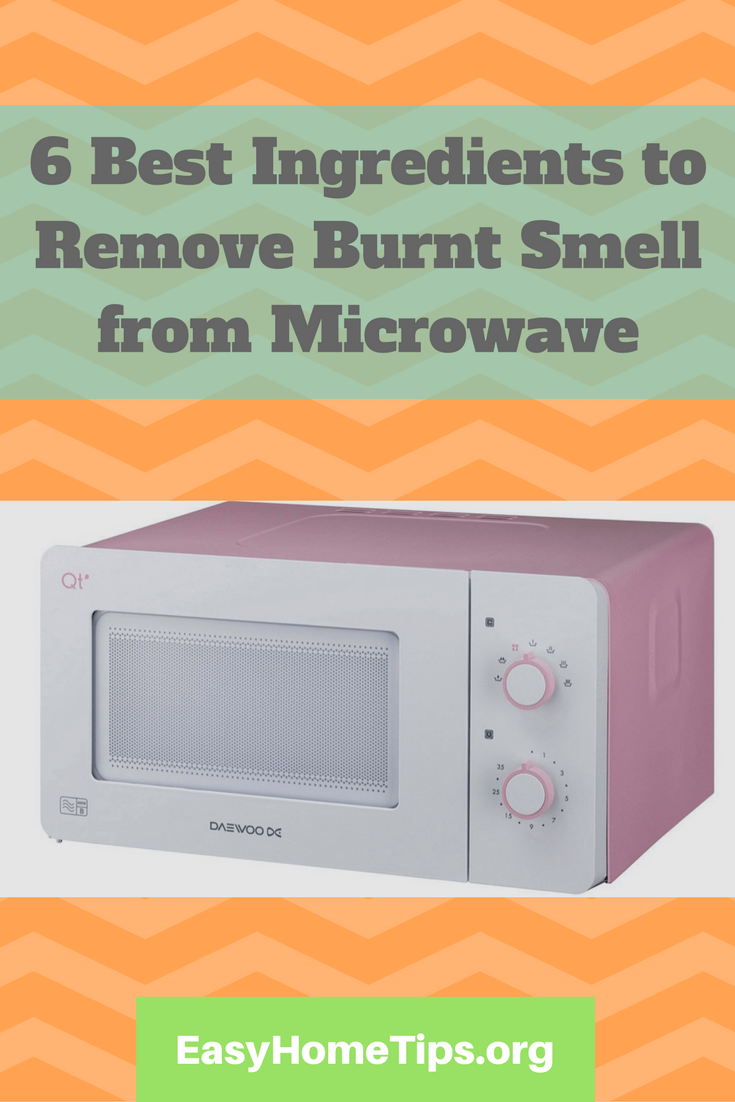 Remove Burnt Smell From Microwave Isn T A Big Deal