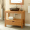 Bathroom Vanity Unfinished Wood Decor