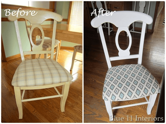 Chairs dining room makeover ideas before and after
