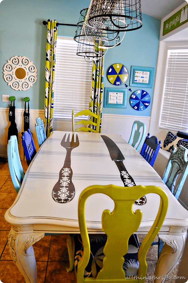 18 Diy Room Decor Ideas For Crafters: Best 18 DIY Dining Room Table Makeover Ideas