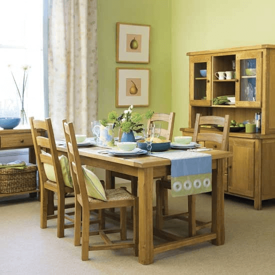 Dining room table makeover wood ideas rustic natural impression