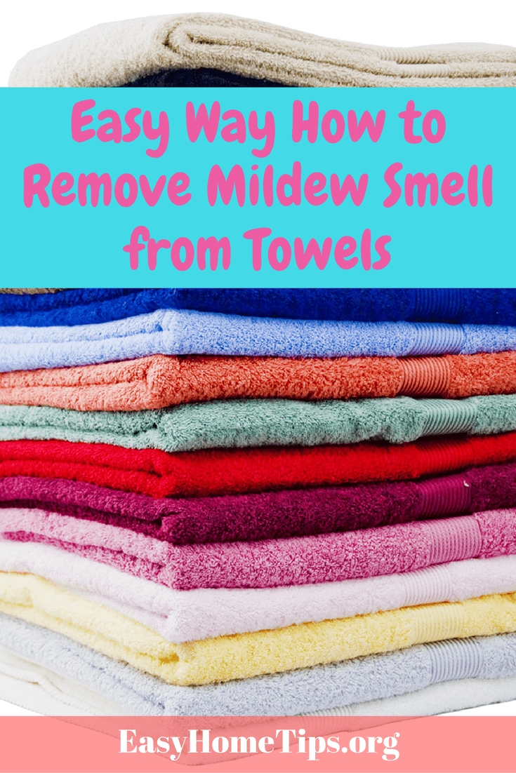 Easy Way How to Remove Mildew Smell from Towels