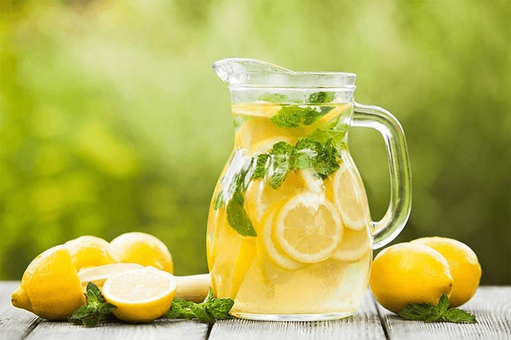 Lemon juice to remove gas smell from hands