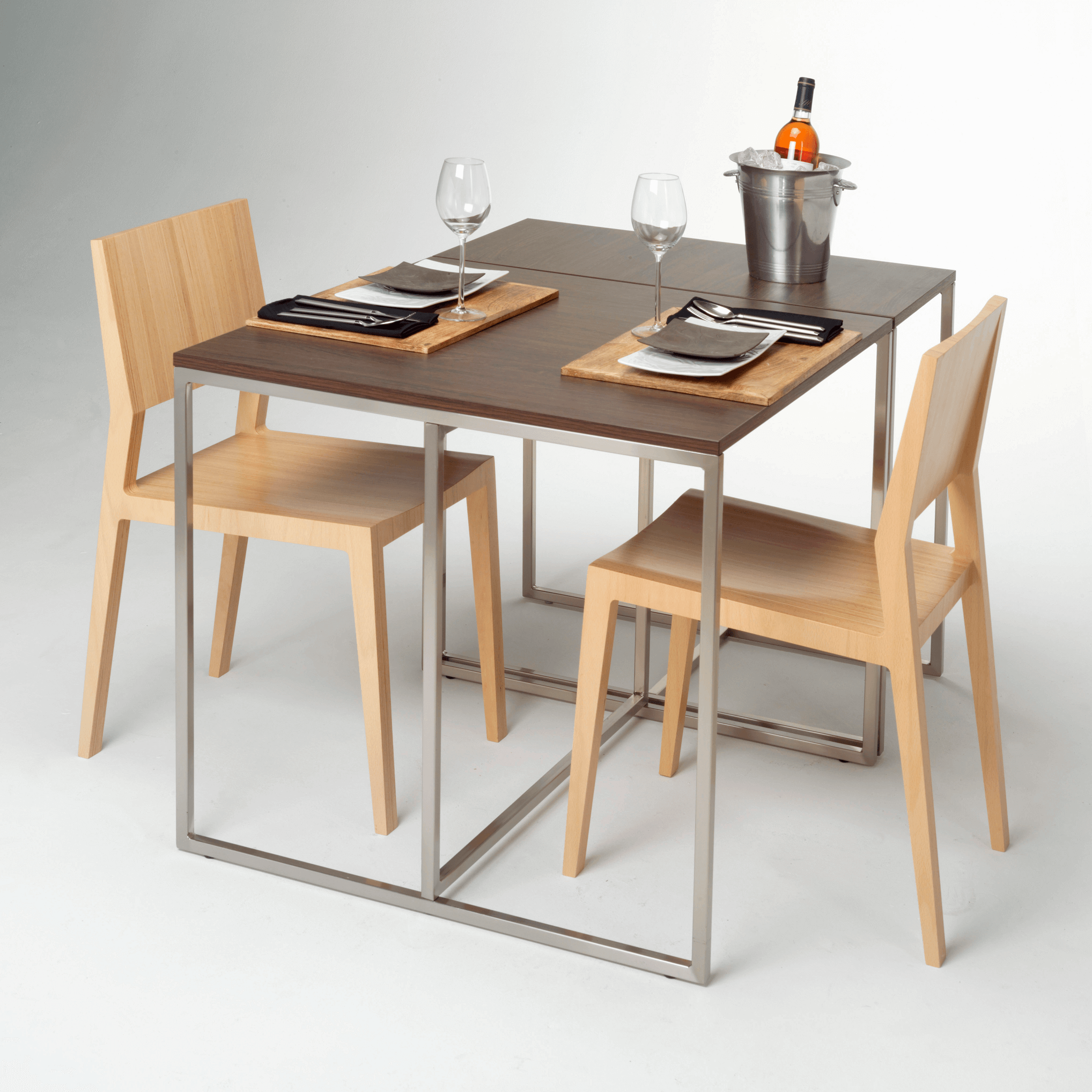 Make your simple dining table and chairs