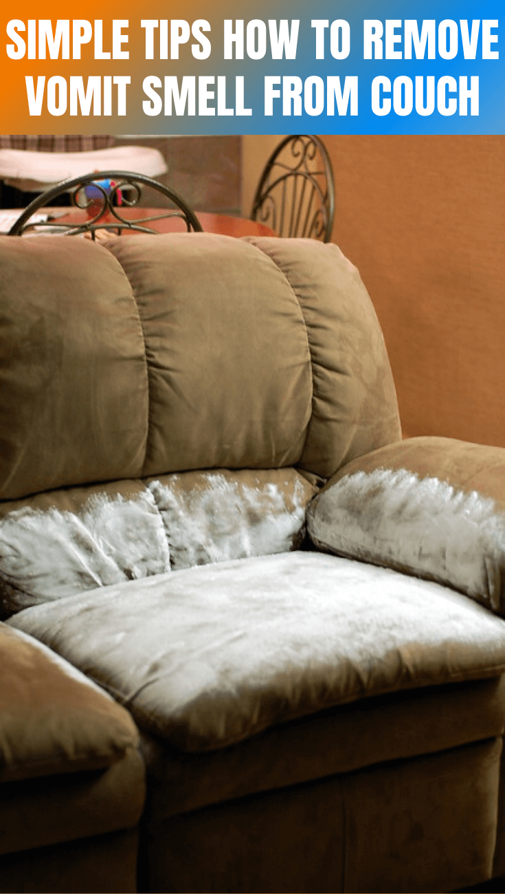 SIMPLE TIPS HOW TO REMOVE VOMIT SMELL FROM COUCH