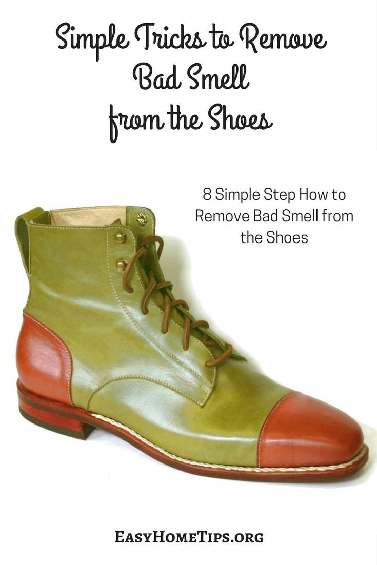 Simple Tricks to Remove Bad Smell from the Shoes