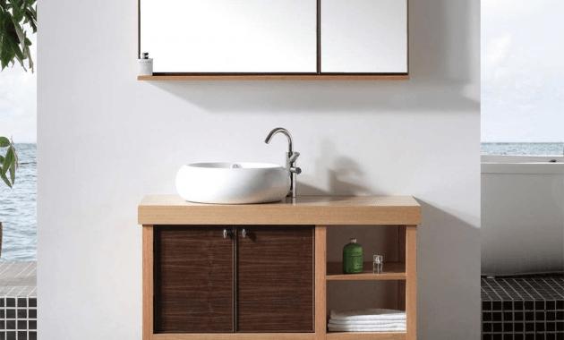Unfinished wood furniture bathroom vanity