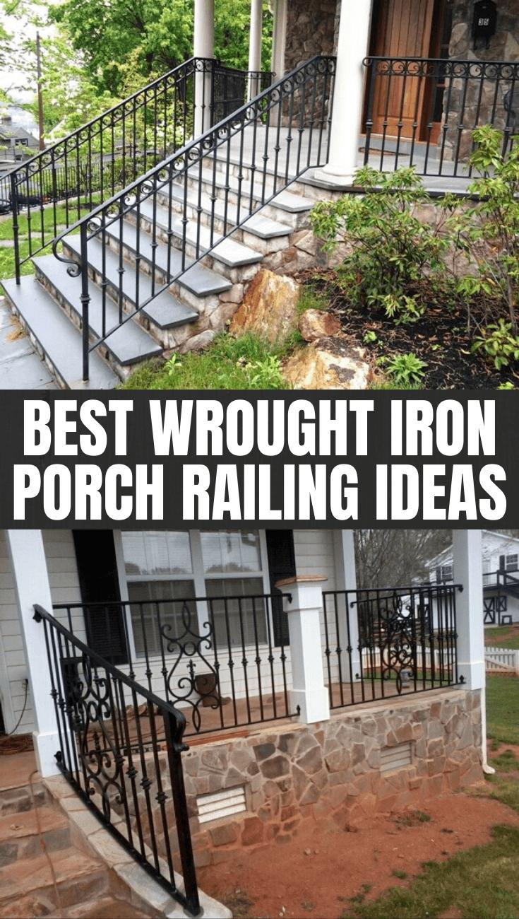 BEST WROUGHT IRON PORCH RAILING IDEAS