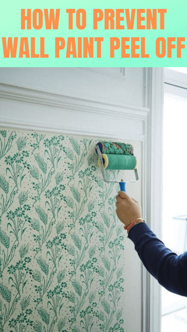 HOW TO PREVENT WALL PAINT PEEL OFF