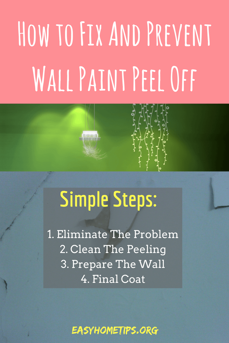 How to Fix And Prevent Wall Paint Peel Off