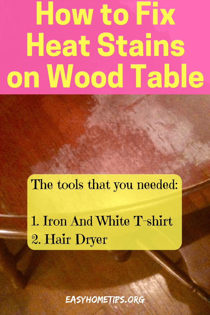 How To Protect Wood Table Surface From Hot Materials