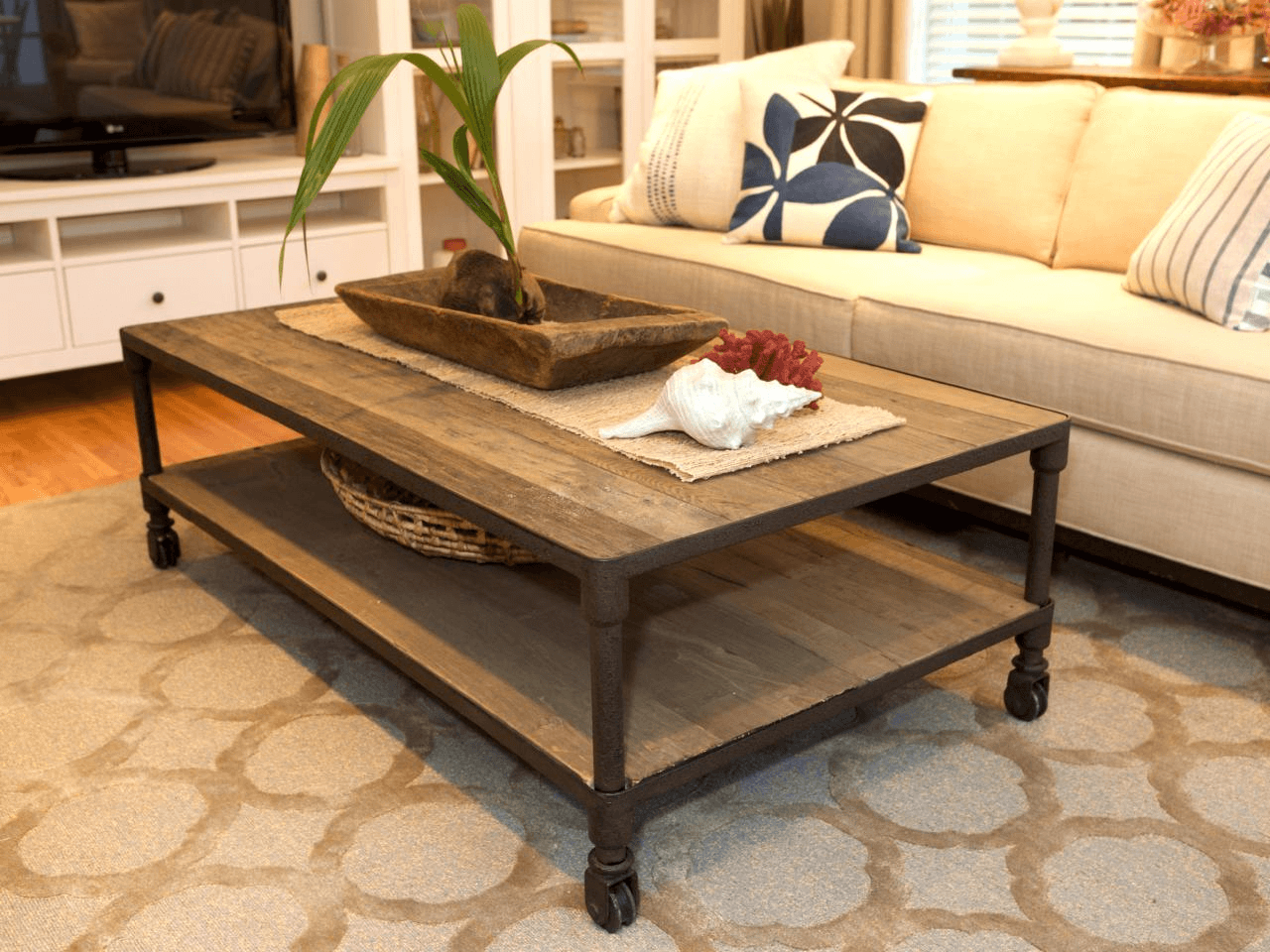 Plant for coffee table living room decoration