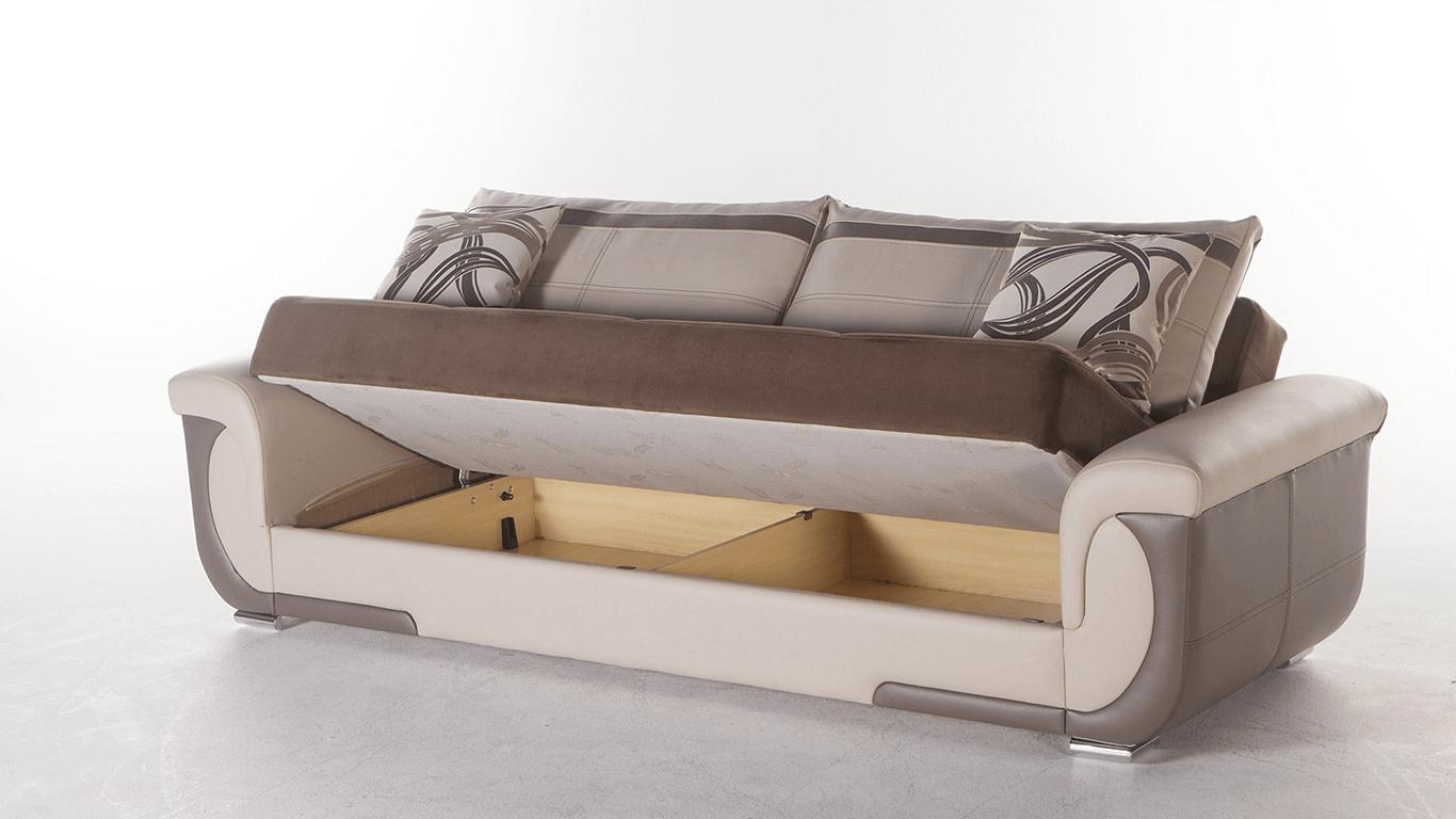 Sofa storage ideas small spaces