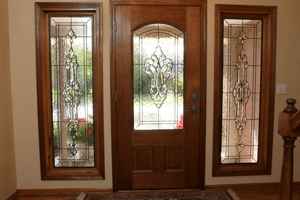 Stained Glass for front window and door decor ideas