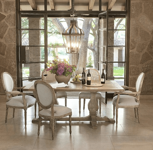 Chandelier lantern decor dining rooms for small family