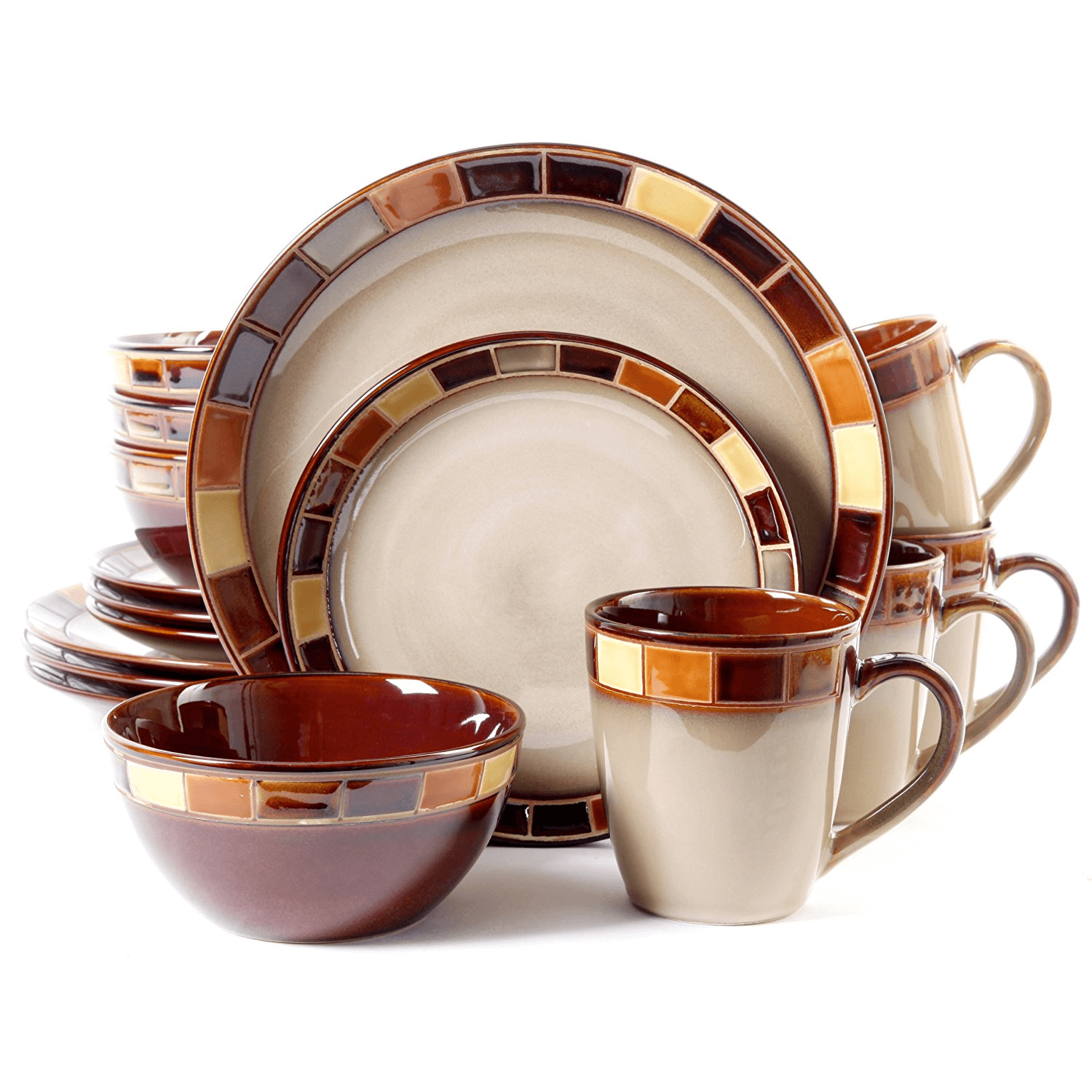 Clean everyday dinnerware set quickly