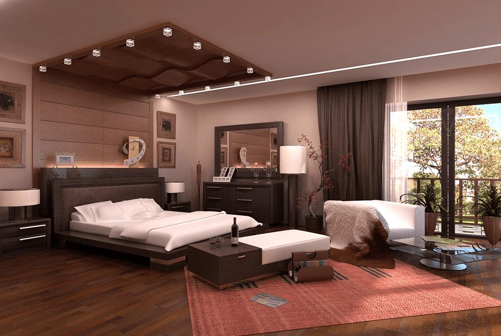 Fancy bedroom lighting picture ideas
