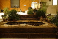 How to build indoor fish pond