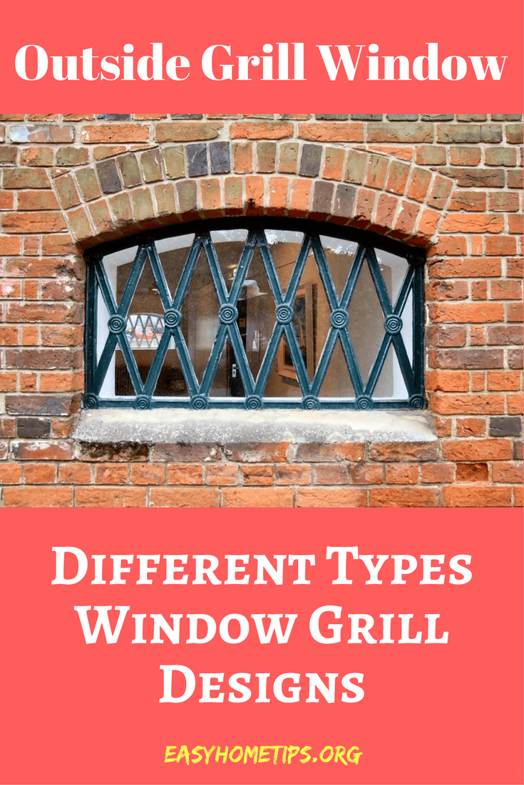 Outside Grill Window and other Different types window grill design and pattern