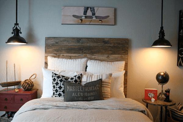Vintage classic bedroom lighting