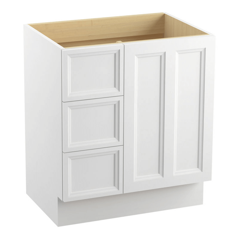 White cabinet Toe Kick Base
