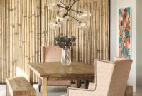 Bohemian Dining Room Wood Wall Decor
