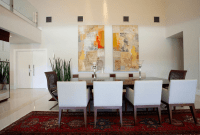 Casual Dining Room Wall Décor