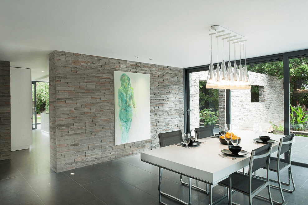 Contemporary Dining Room Wall Decor