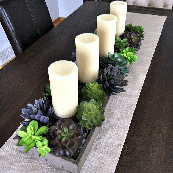 DIY dining room table decor and design ideas on a budget