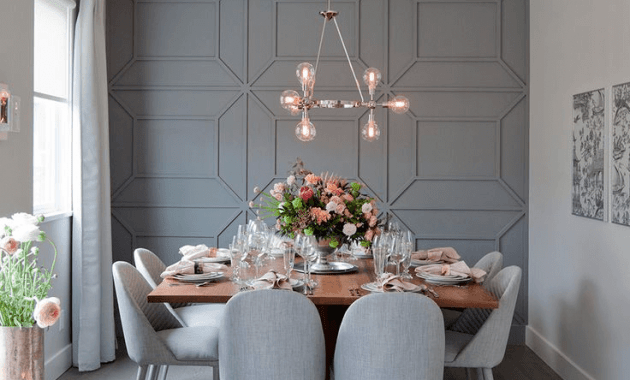 4 Dining Room Wall Trim Ideas
