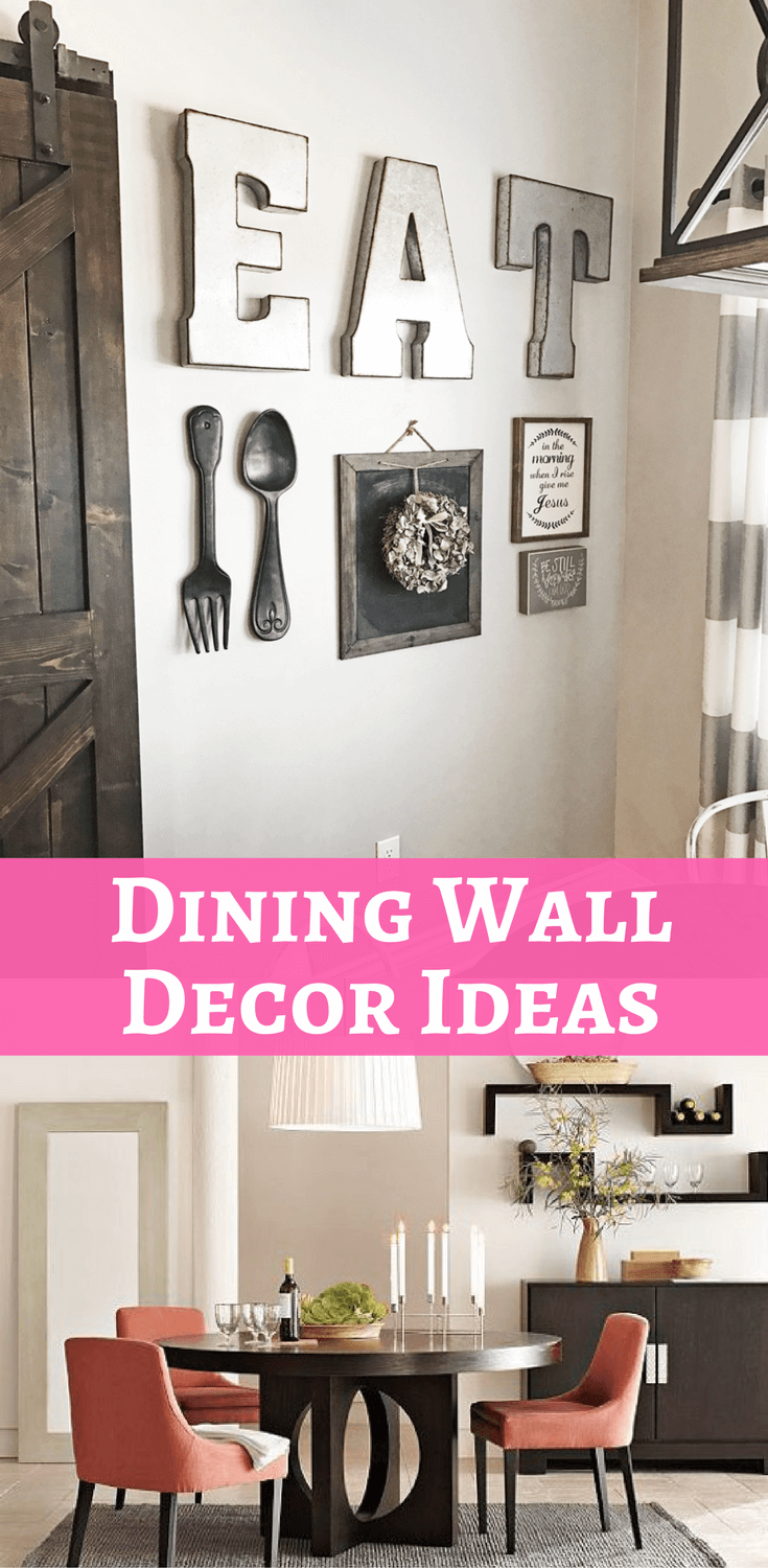 Dining Wall Decor Ideas