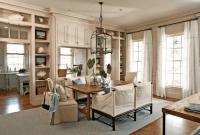 Dining room wall cabinet decor ideas