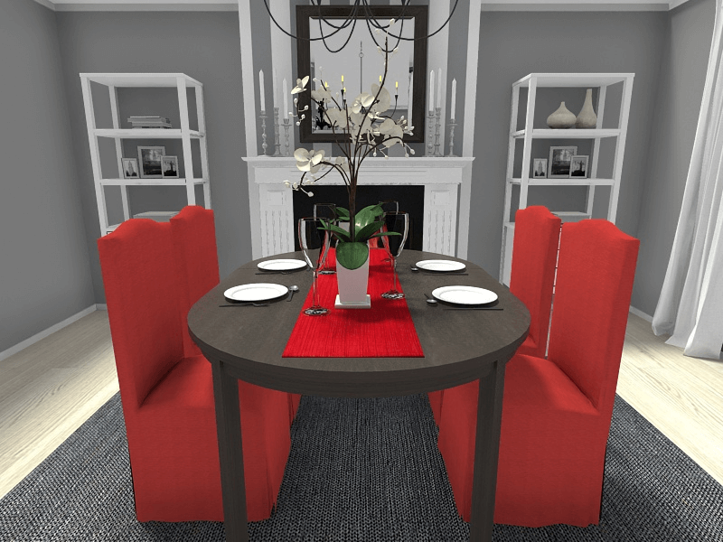 Dining table runner decoration ideas for christmas