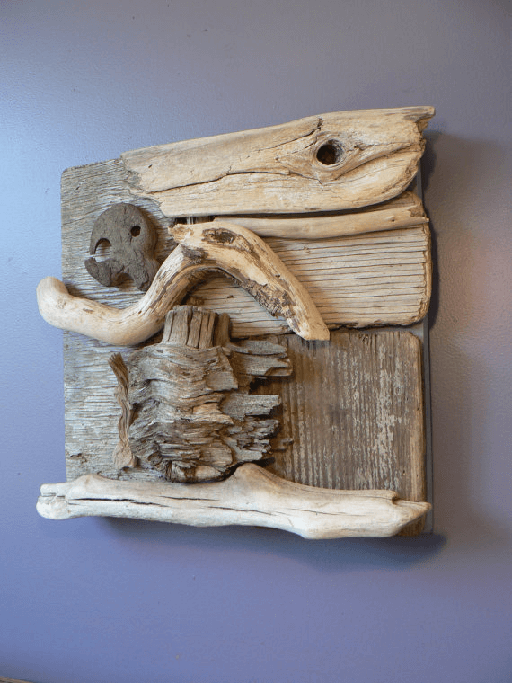 Driftwood Branch wall art decoration