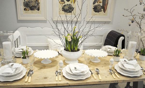 Easter dining table decor ideas