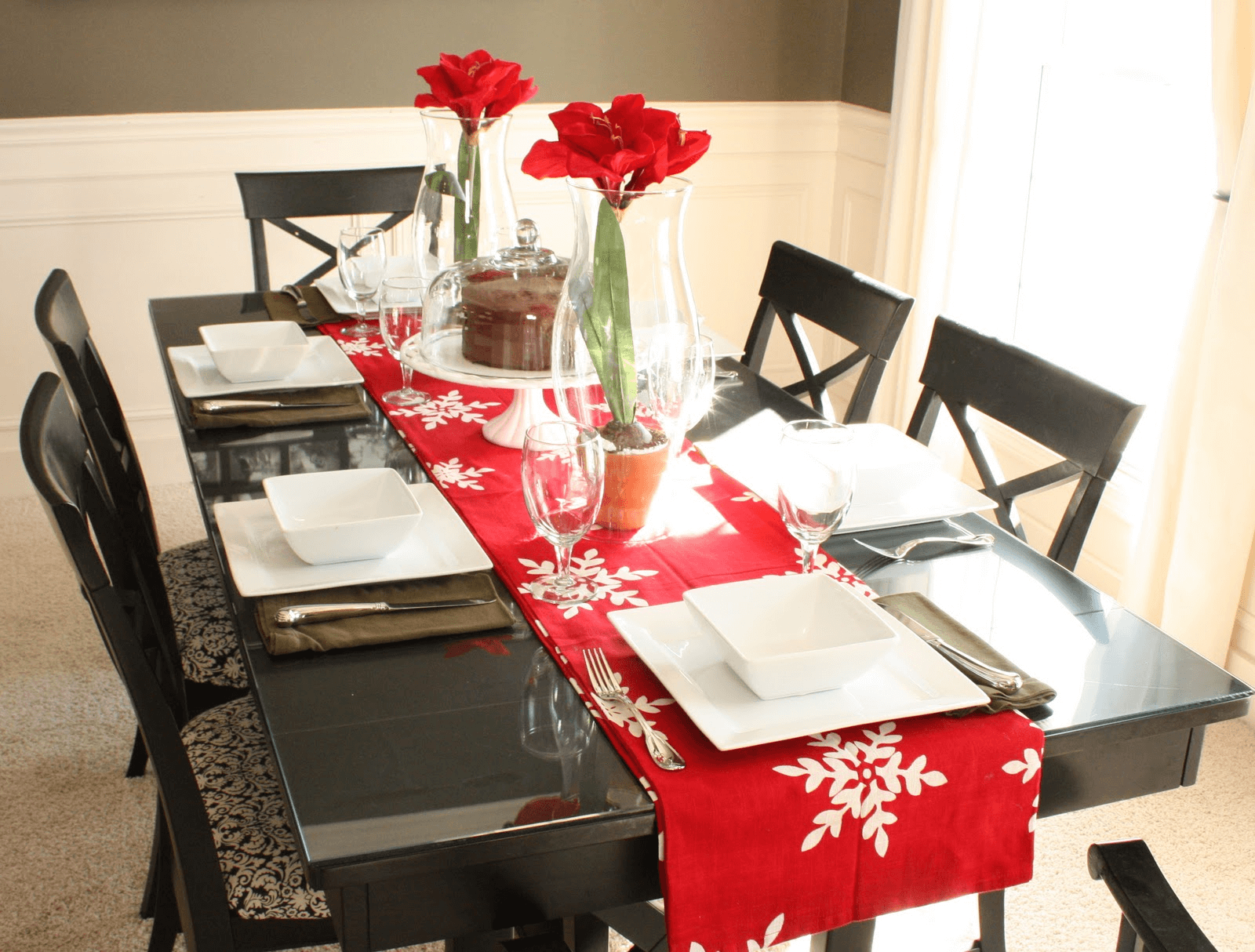How to decorate dining table for valentine make a