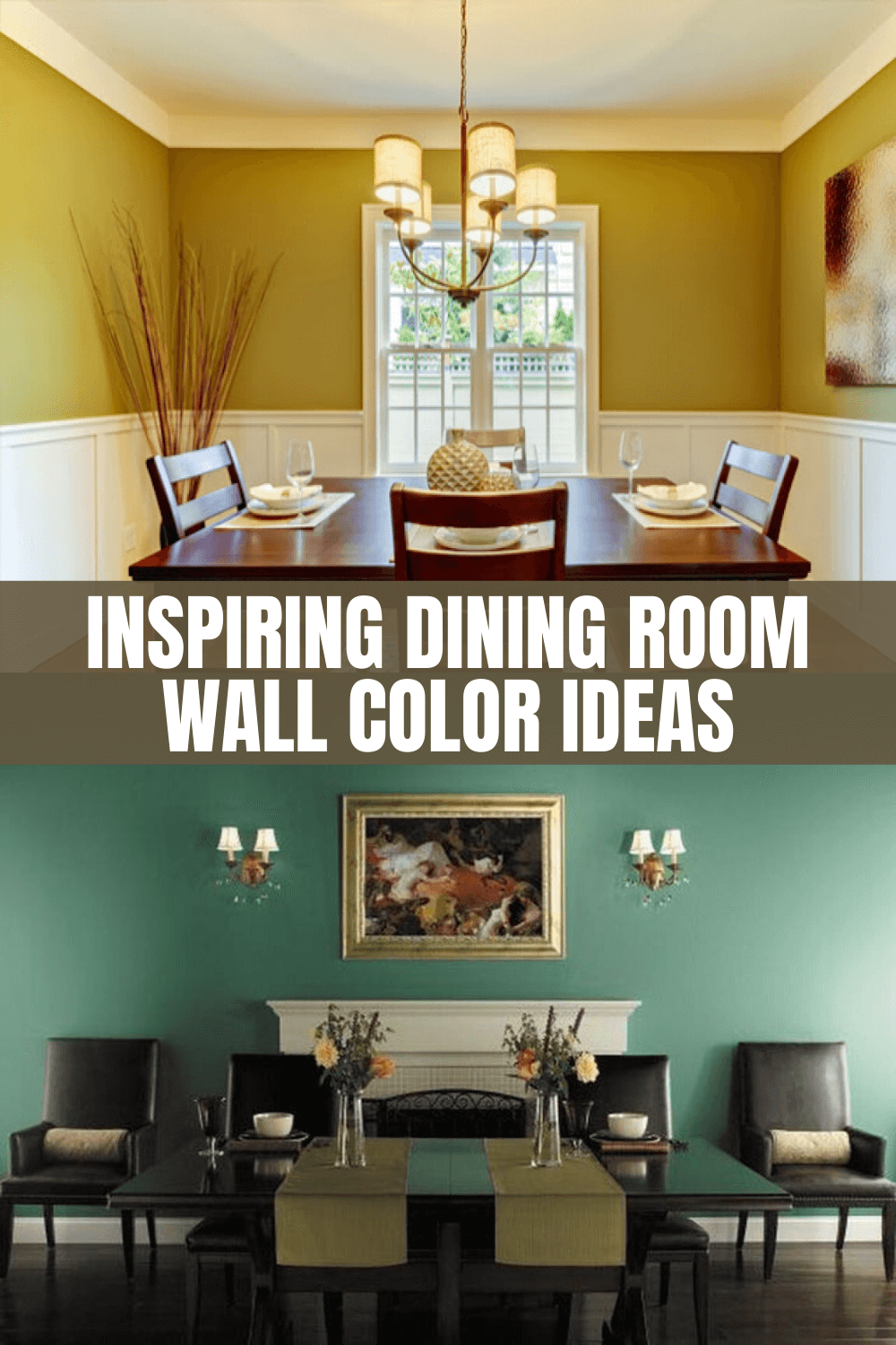 INSPIRING DINING ROOM WALL COLOR IDEAS