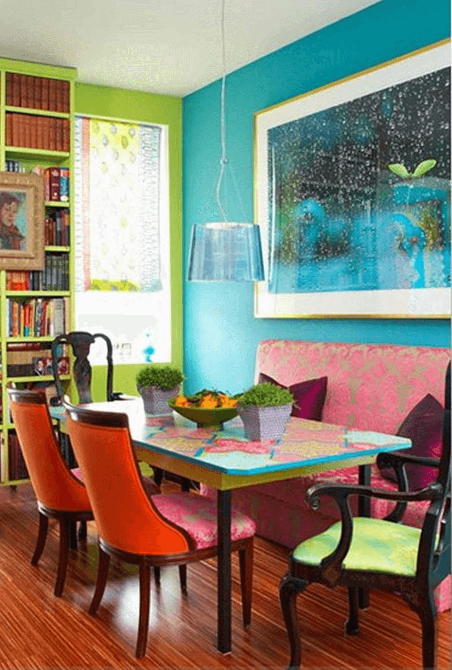 Interesting Dining Room Wall Color Ideas