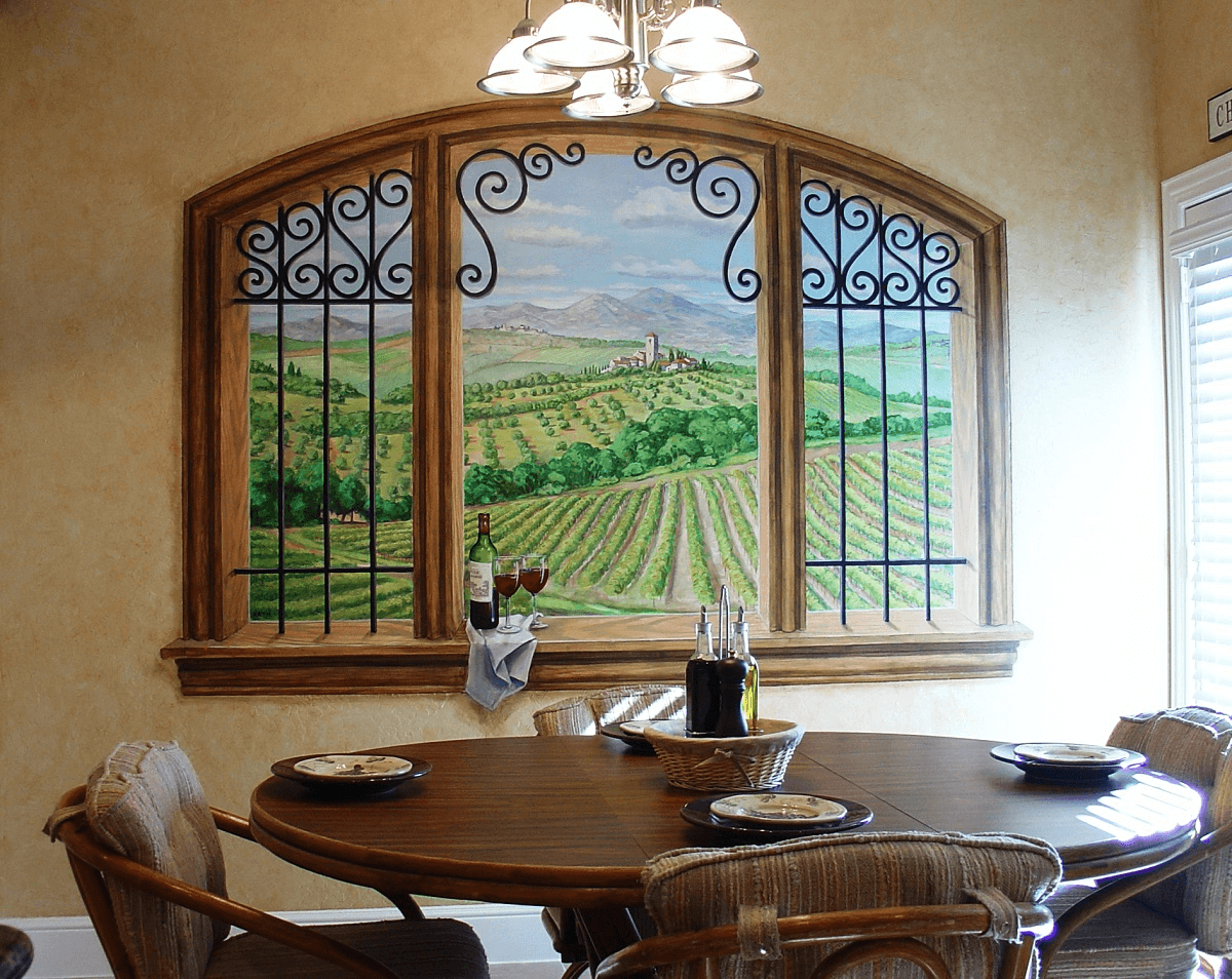 100 diy dining room wall decor images for Diy wall photo mural