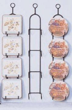 Regal Decorative Plate Display Rack
