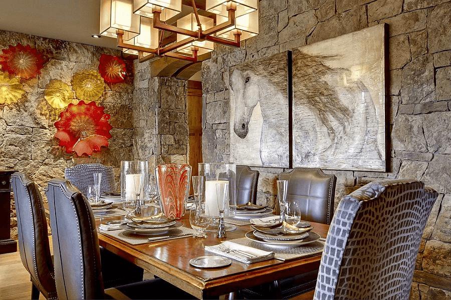 Rustic Dining Room Wall Decor Ideas