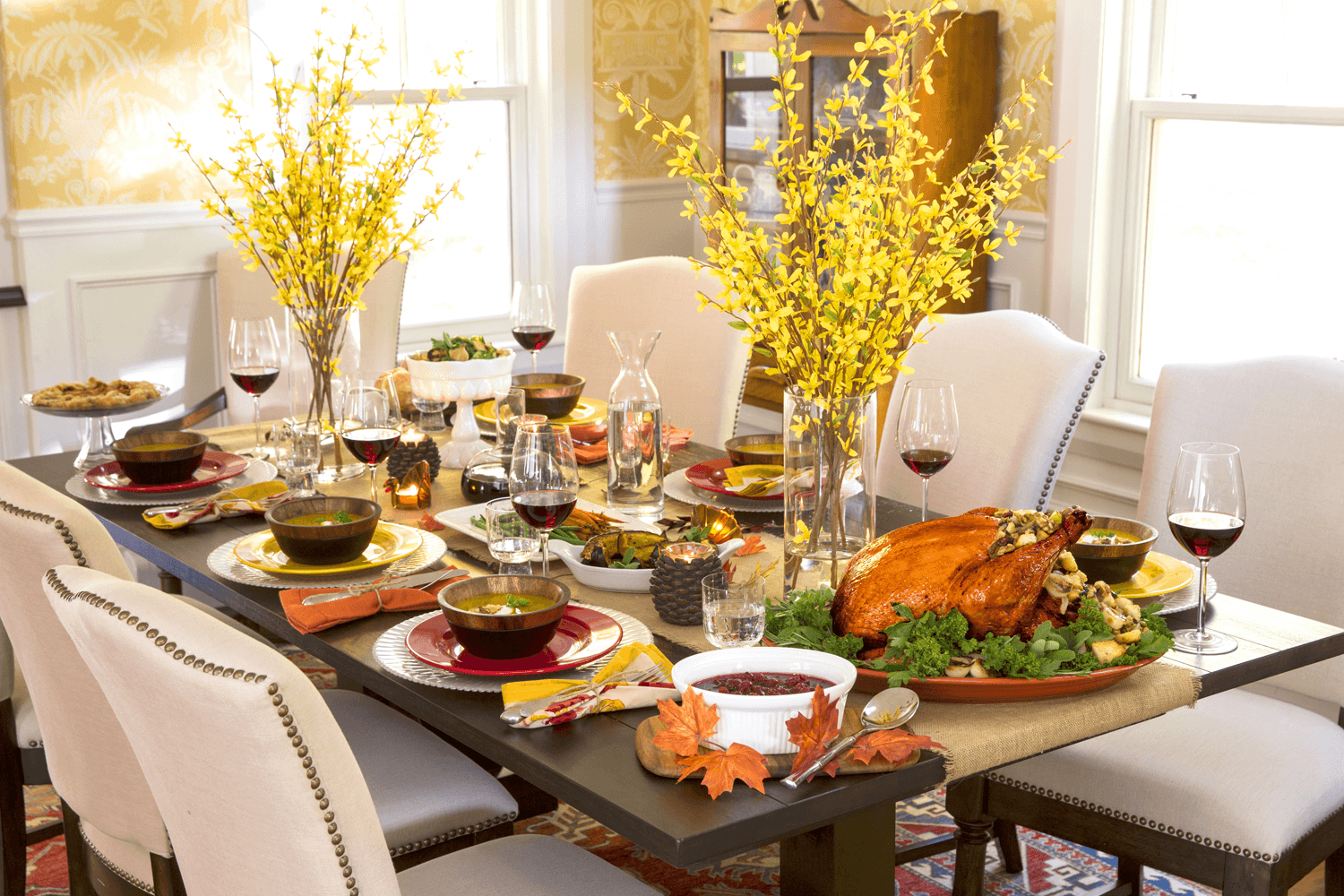 How To Decorate My Dining Room Table For Thanksgiving