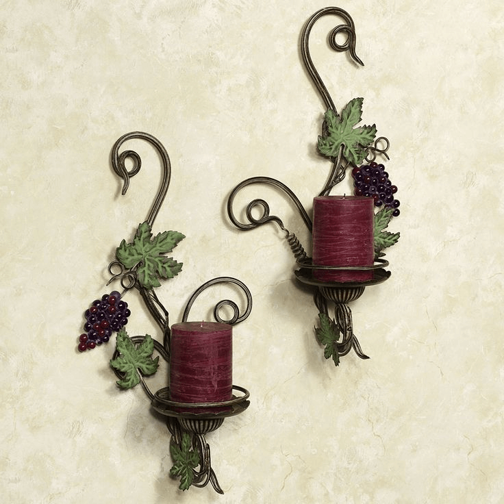 Vina Bella Wall Sconce Set of Two