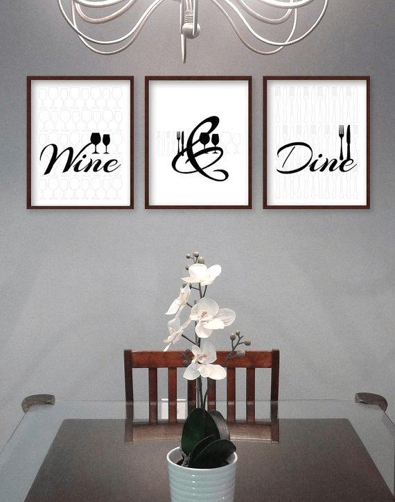 Wall Art Word Dining Room Wall Decor
